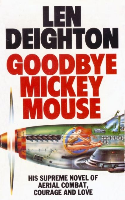 Paperback cover of Goodbye, Mickey Mouse