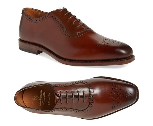 Allen Edmonds Cornwallis in Dark Chili
