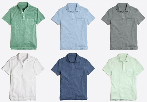 JCF Sunwashed Garment Dyed Polos