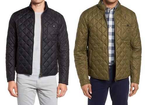Barbour Slim Fit Water Resistant Quilted Jacket