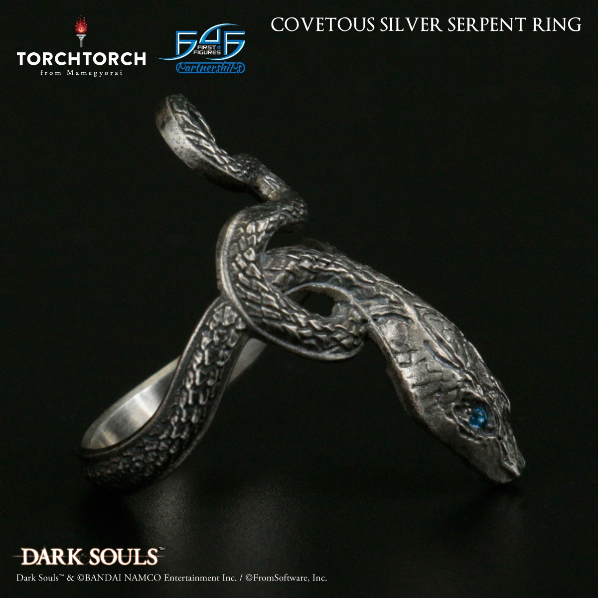 Covetous Silver Serpent Ring
