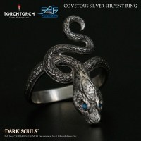 Covetous Silver Serpent Ring - Partnerships