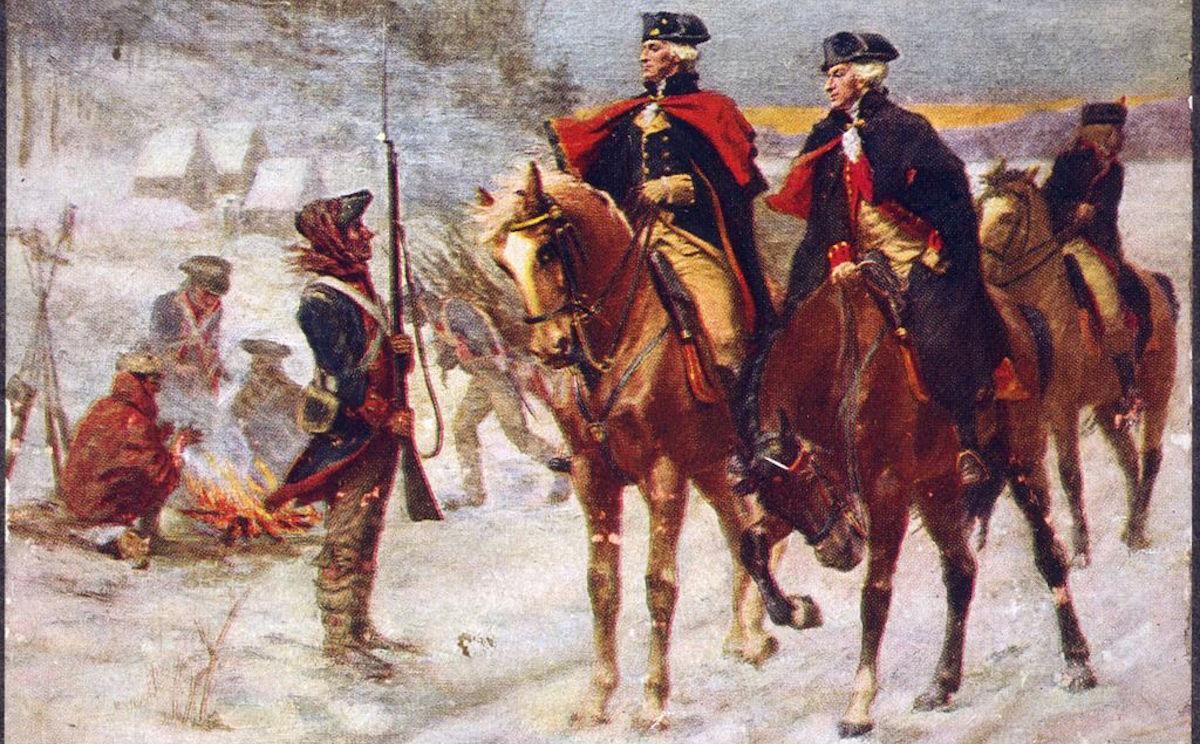 President George Washington His Horse