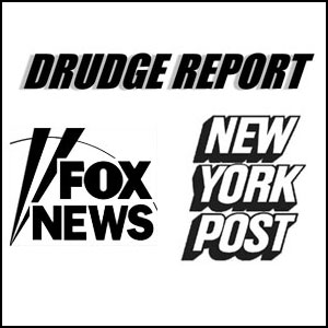 Drudge And Fox News Push False Attack Against Disaster
