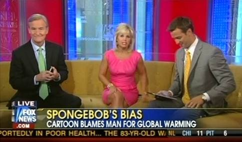 Fox&Friends Onscreen Text