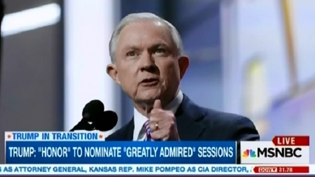 Image result for trump select session as attorney general