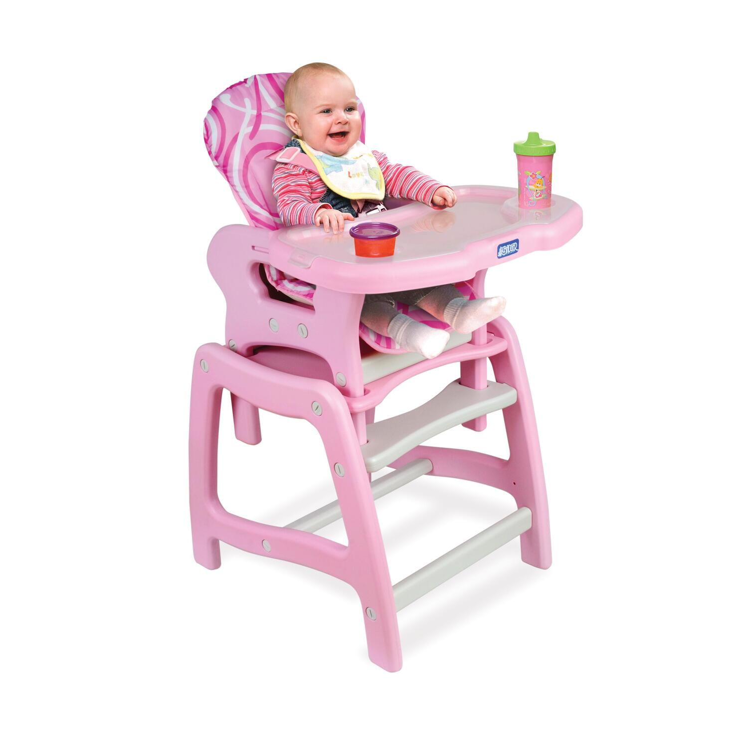 Chairs For Babies Badger Basket Envee Baby High Chair With Playtable