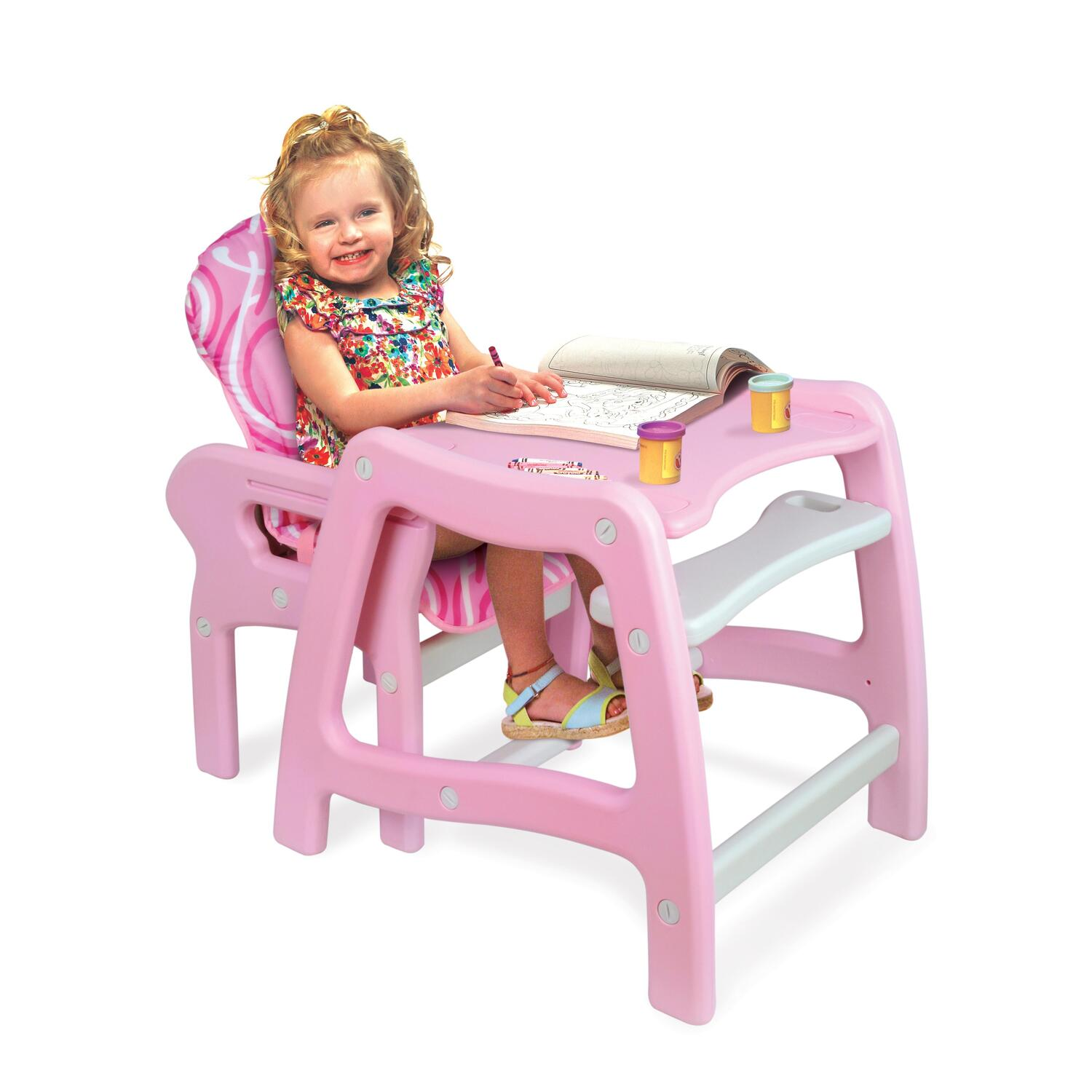 Chairs For Babies Envee Baby High Chair With Playtable Conversion From