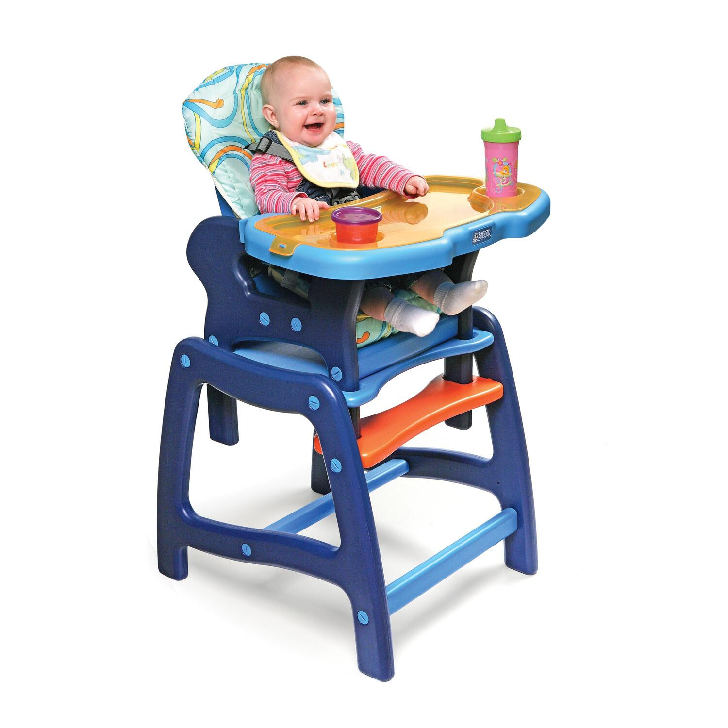 Baby Chair For Eating Envee Baby High Chair With Playtable Conversion From