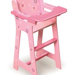 High Chairs For Babies And Toddlers Hair Braiding Blossoms Butterflies Doll Chair Ojcommerce