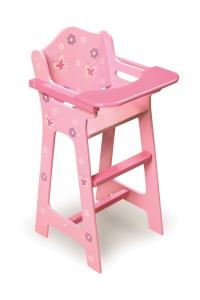 Blossoms & Butterflies Doll High Chair | OJCommerce
