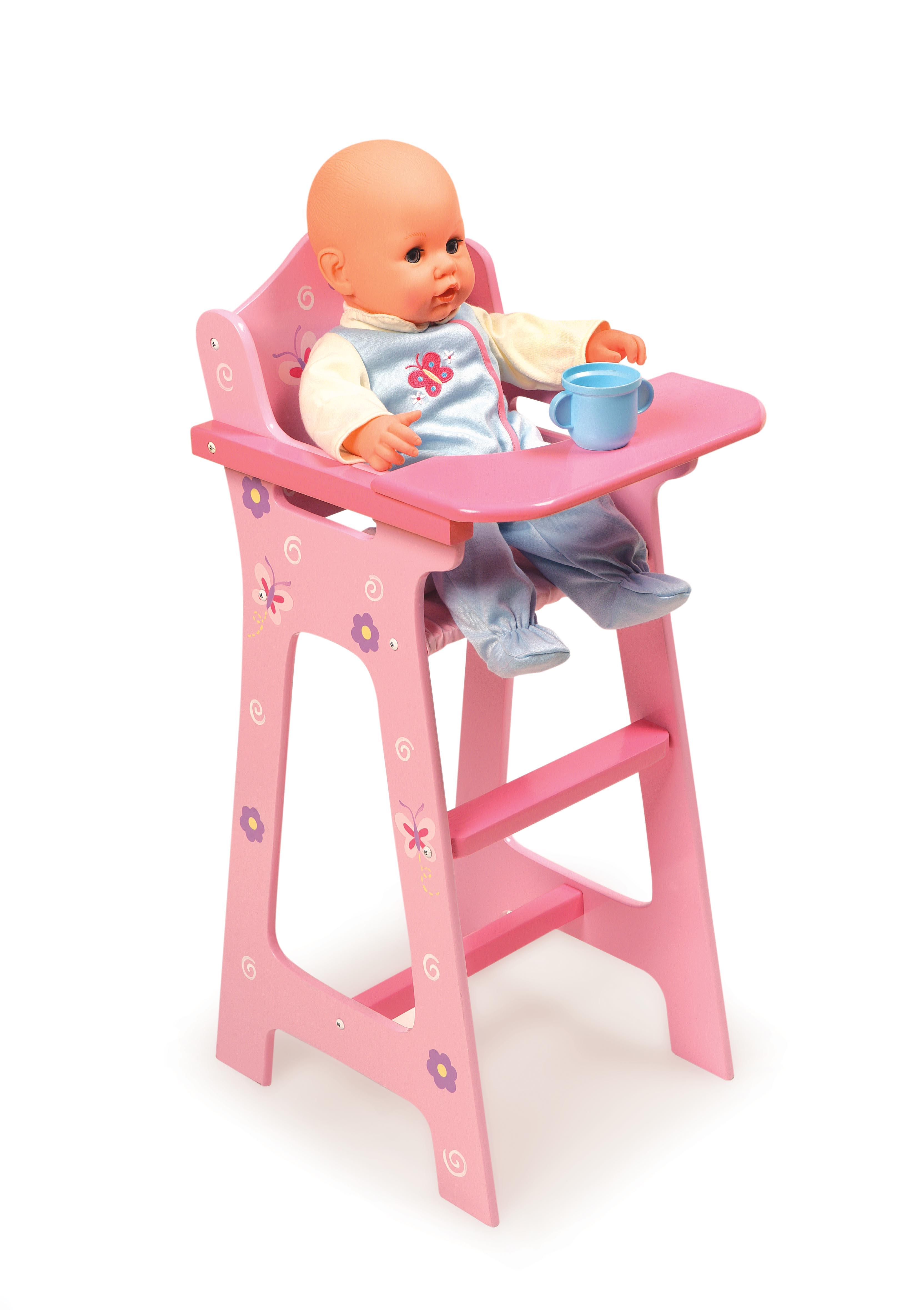 Blossom High Chair Blossoms And Butterflies Doll High Chair Ojcommerce