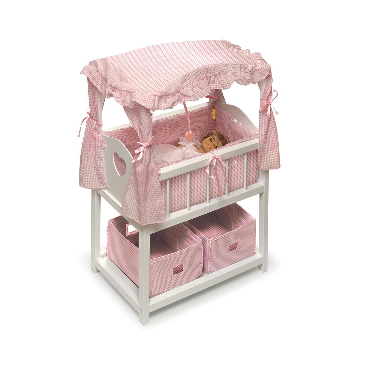 badger basket doll high chair swivel john cootes canopied crib furniture set from 144 99 to 192