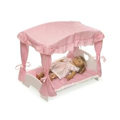 Badger Basket Doll High Chair Victorian Style Dining Table And Chairs Canopied Bed Furniture Set Ojcommerce