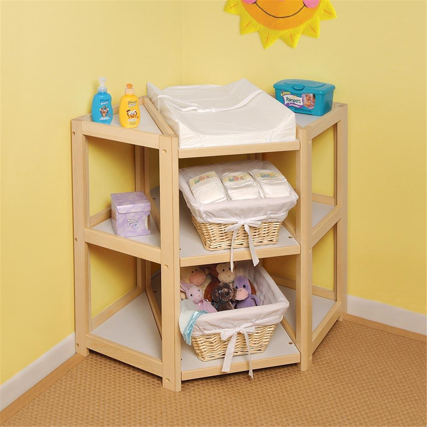 Diaper Corner Changing Table  OJCommerce