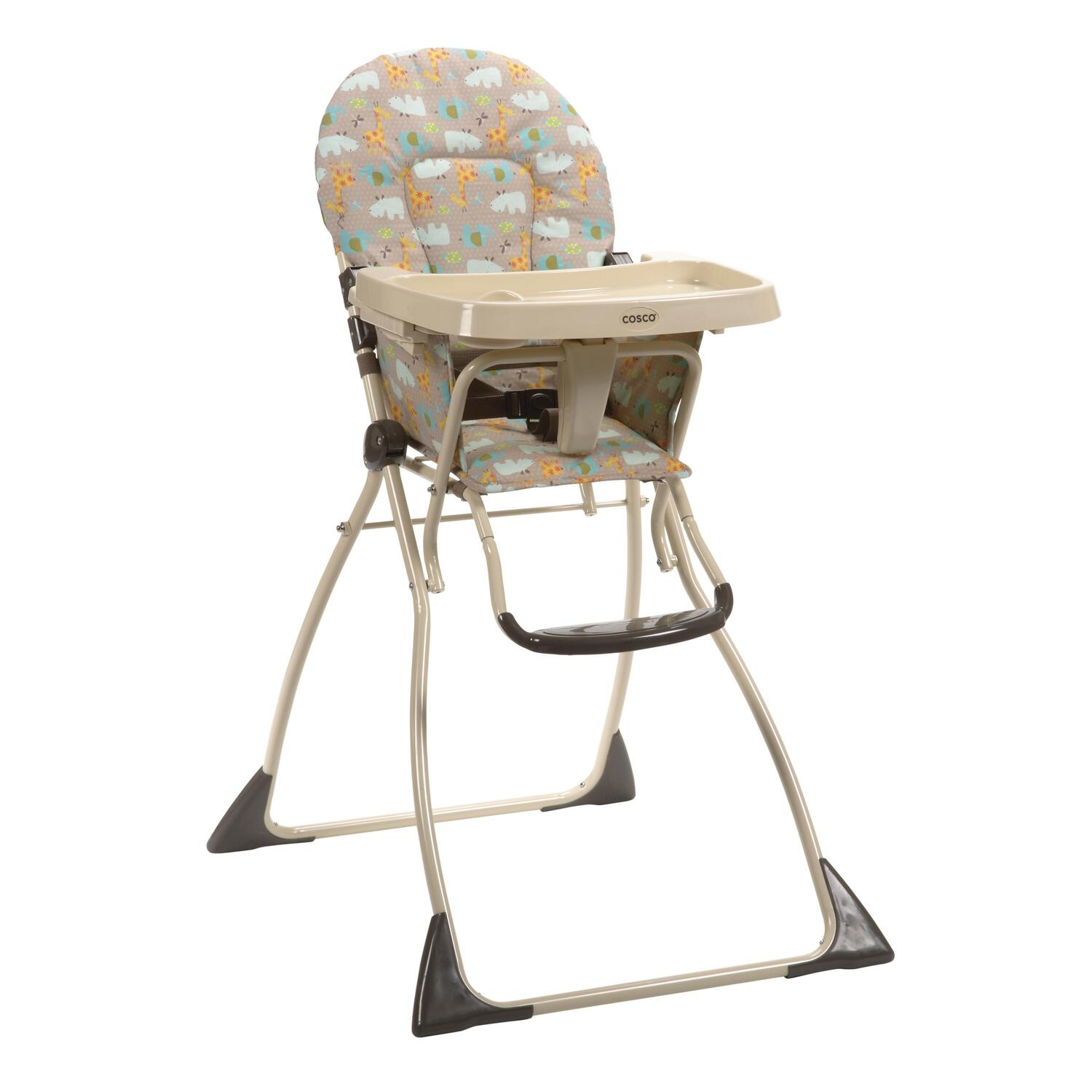 how to fold up a cosco high chair revolving base flat zambia by oj commerce