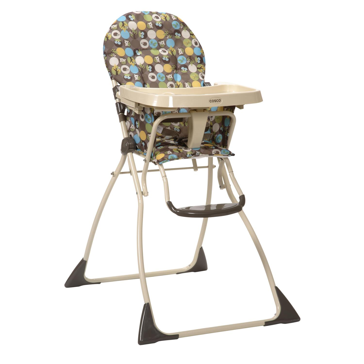 High Chairs Cosco Cosco Flat Fold High Chair Into The Woods By Oj