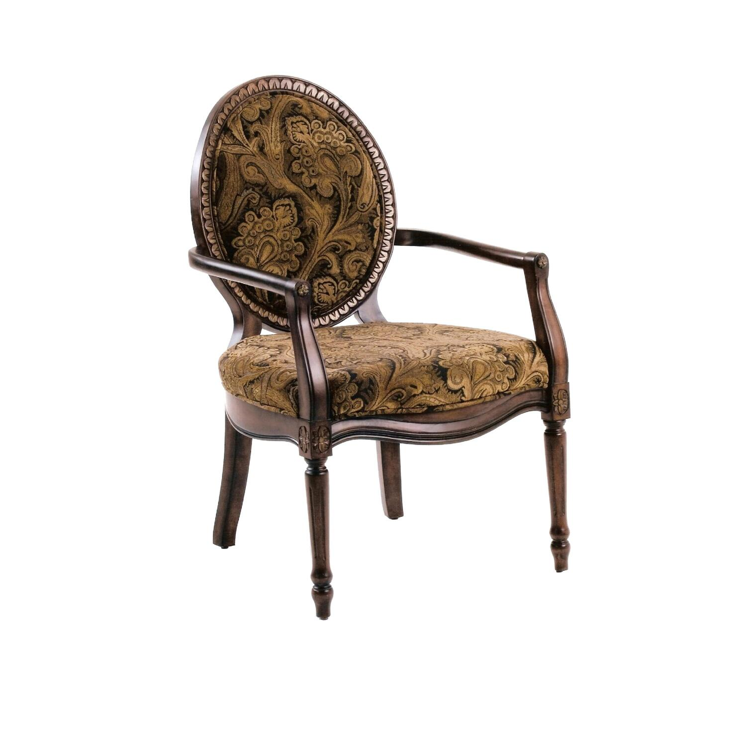 Comfort Pointe Madison Victorian Accent Chair by OJ