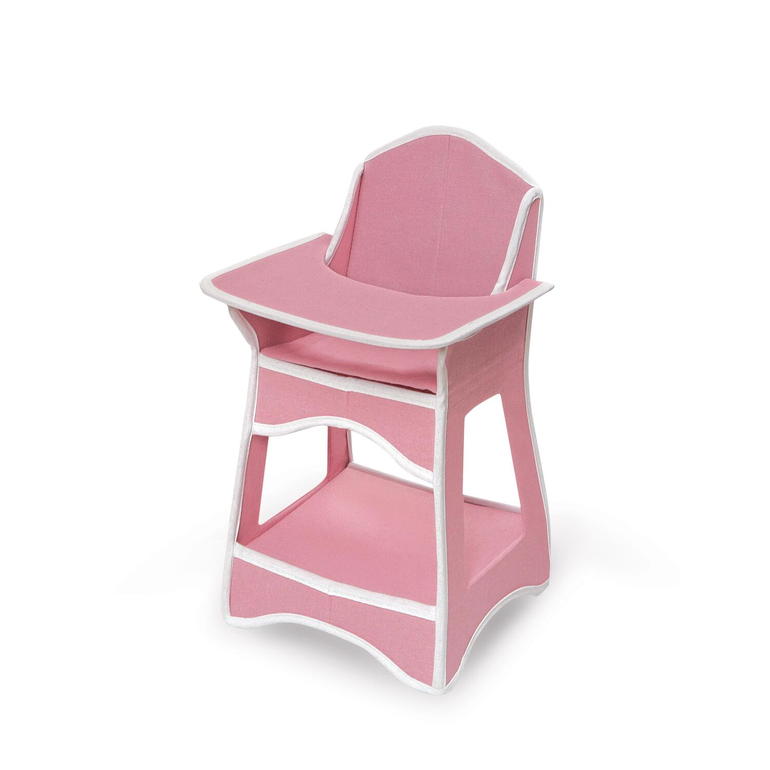 Badger High Chair Badger Basket Folding Doll Furniture Set With Storage Crib