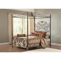 Hillsdale Furniture STANTON QUEEN CANOPY BED SET w ...