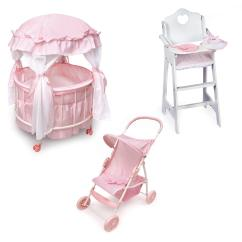 Badger Basket Doll High Chair Jenny Lind Table And Chairs Baby Crib Highchair. Best Images Collections Hd For Gadget Windows . Wooden ...