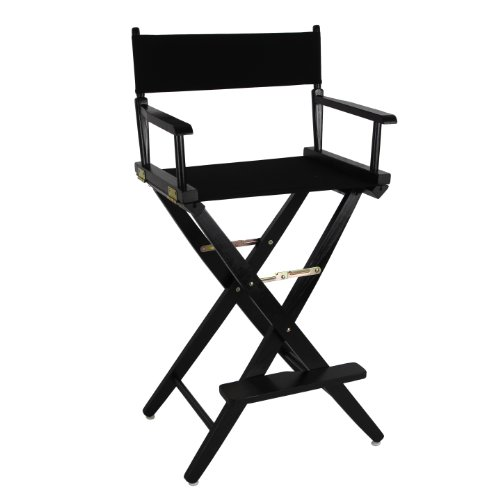 directors chair covers big w office without wheels india extra wide premium 30 black frame color cover
