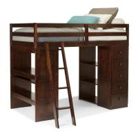 loft bed with storage and desk - 28 images - charleston ...