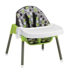 Evenflo Convertible High Chair Dottie Lime Covers For White Folding Chairs 3 In 1 By Oj Commerce 53 99