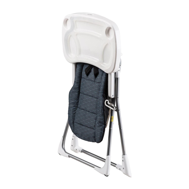 compact high chair portable cloth evenflo fold by oj commerce 55 99