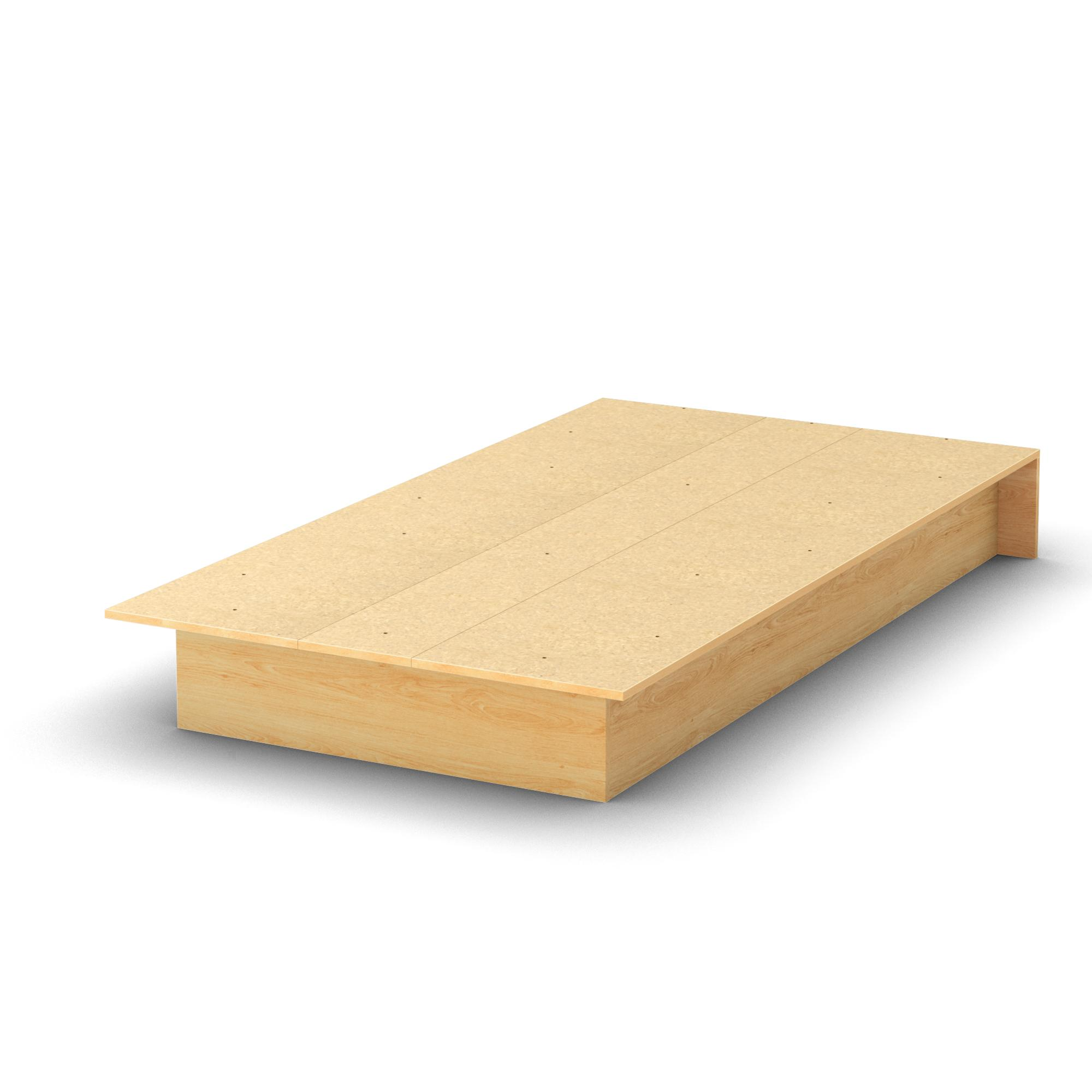 Plans Building Platform Bed Storage   Designmore
