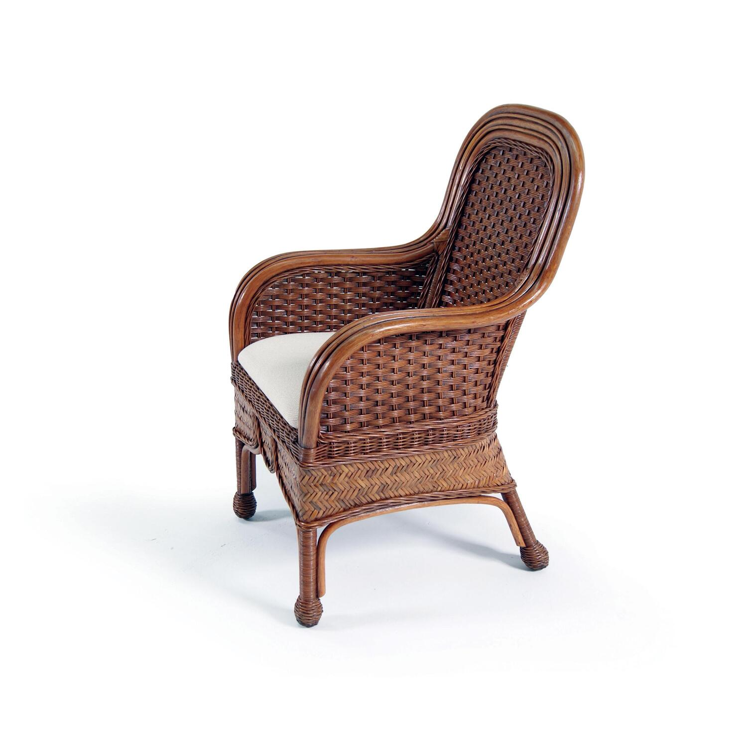 Moroccan Dining Arm Chair in Urban Mahogany  From 66342