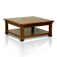 COE Limited Square Low Coffee Table by OJ Commerce $355.99