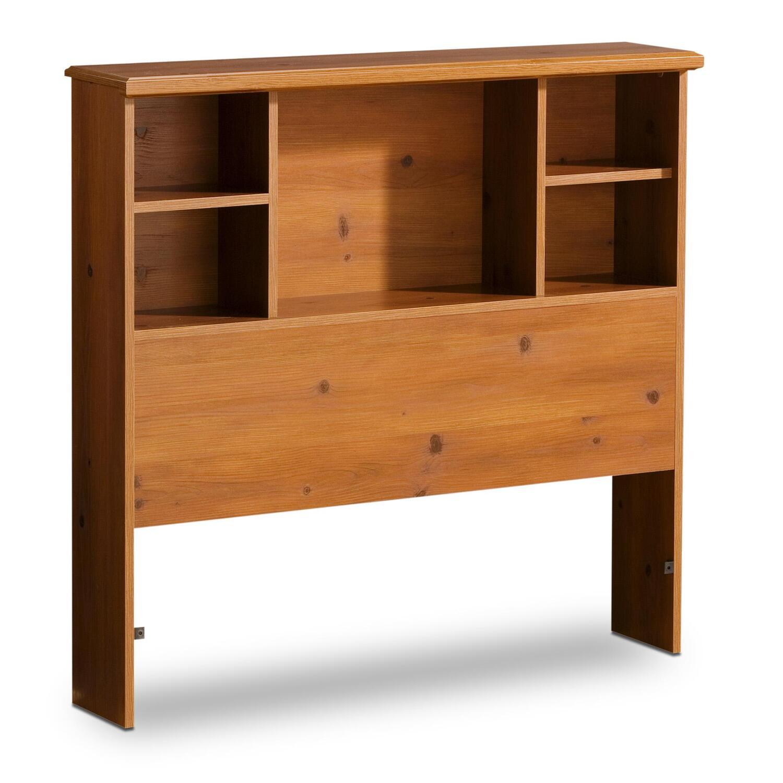 Bookcase Headboard Twin