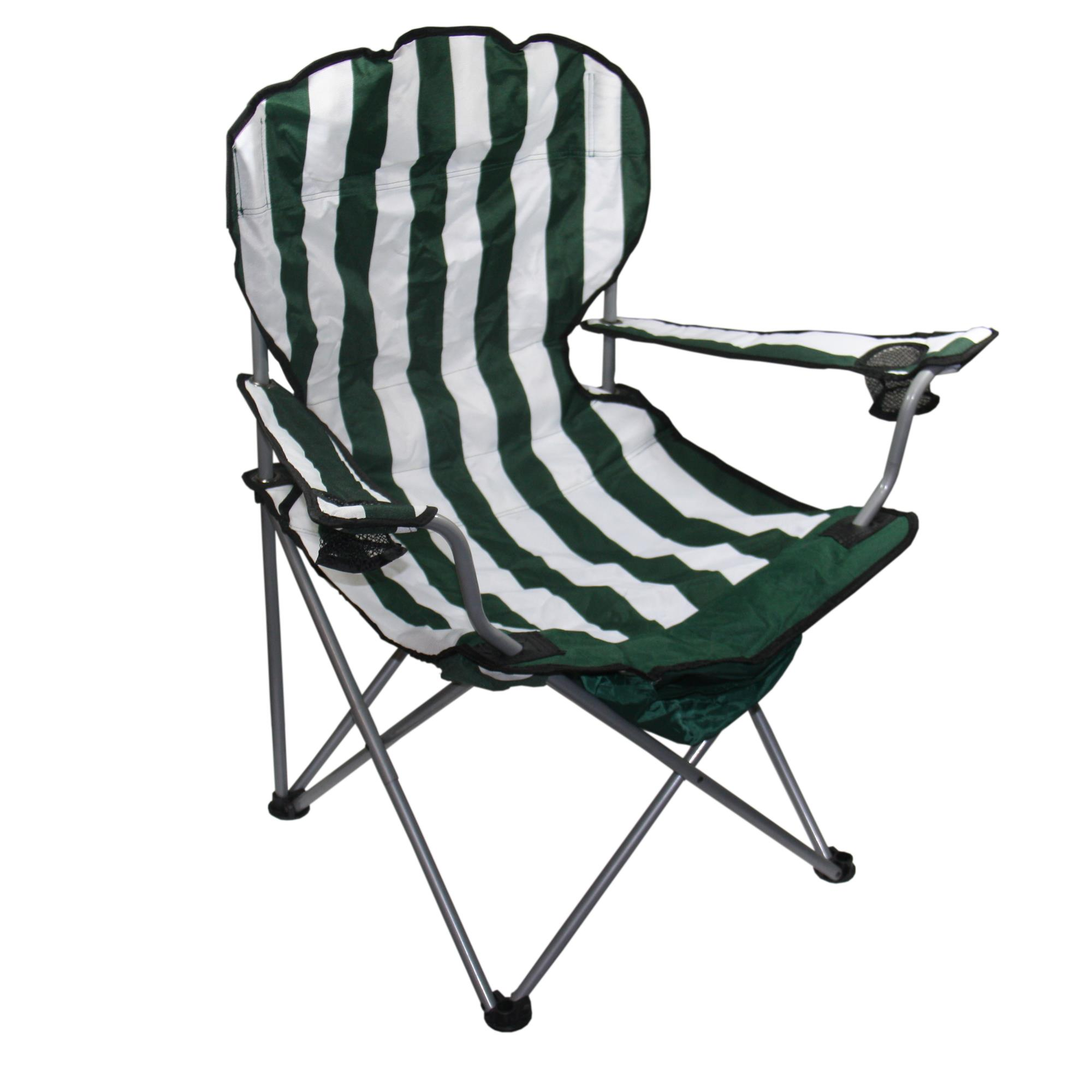 folding chair o shopping electric pictures green stripe 43 99 ojcommerce
