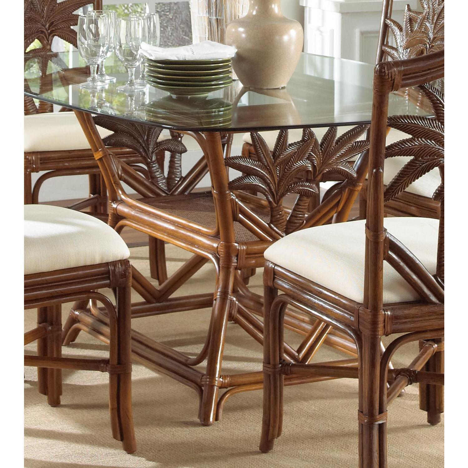 wicker chairs indoor dining old dental chair rattan and rectangular table 800 99