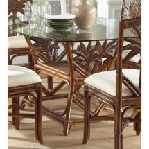 Indoor Rattan & Wicker Rectangular Dining Table - 800.99