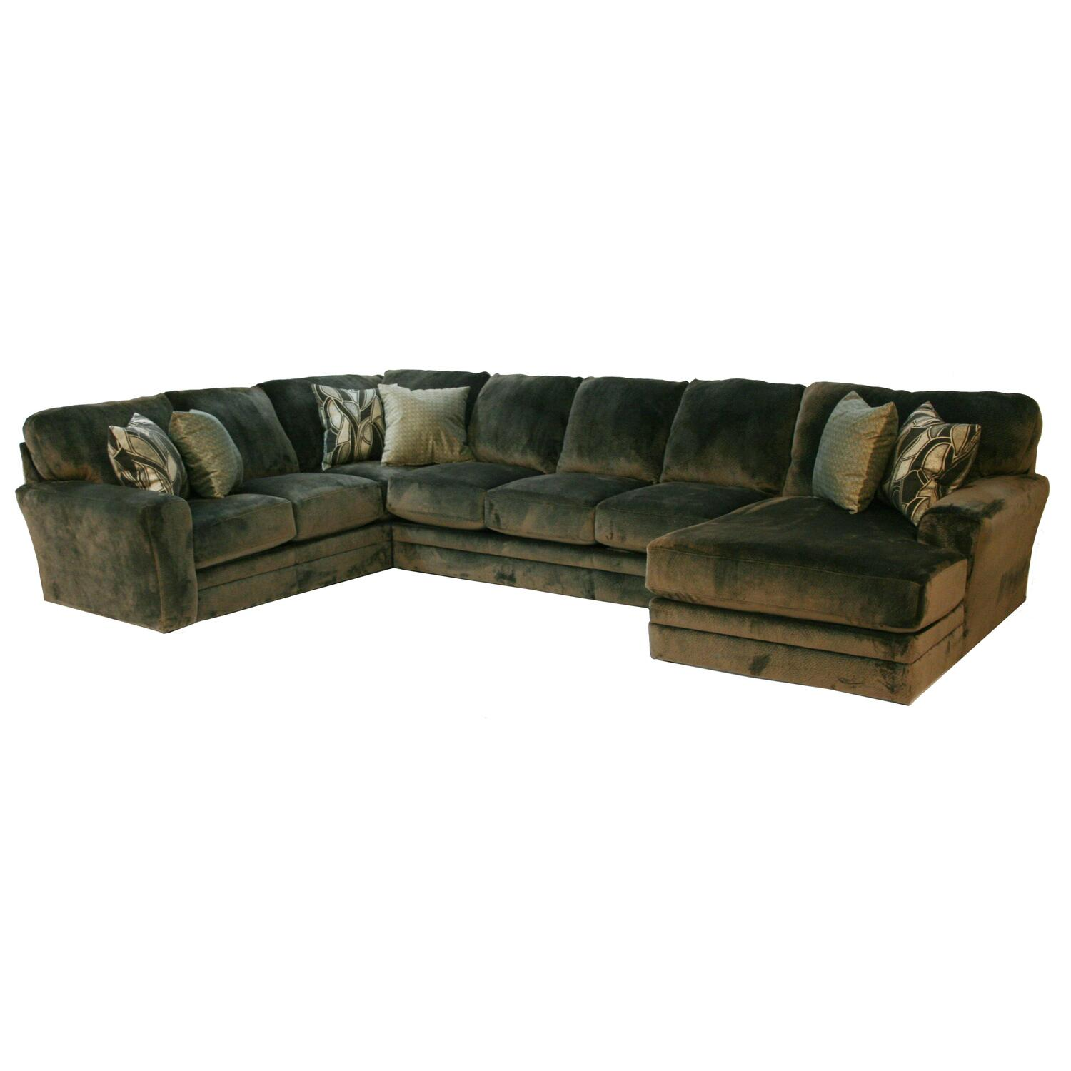 jackson furniture sectional sofas leather sofa loveseat chair and ottoman everest 3 pc by oj commerce
