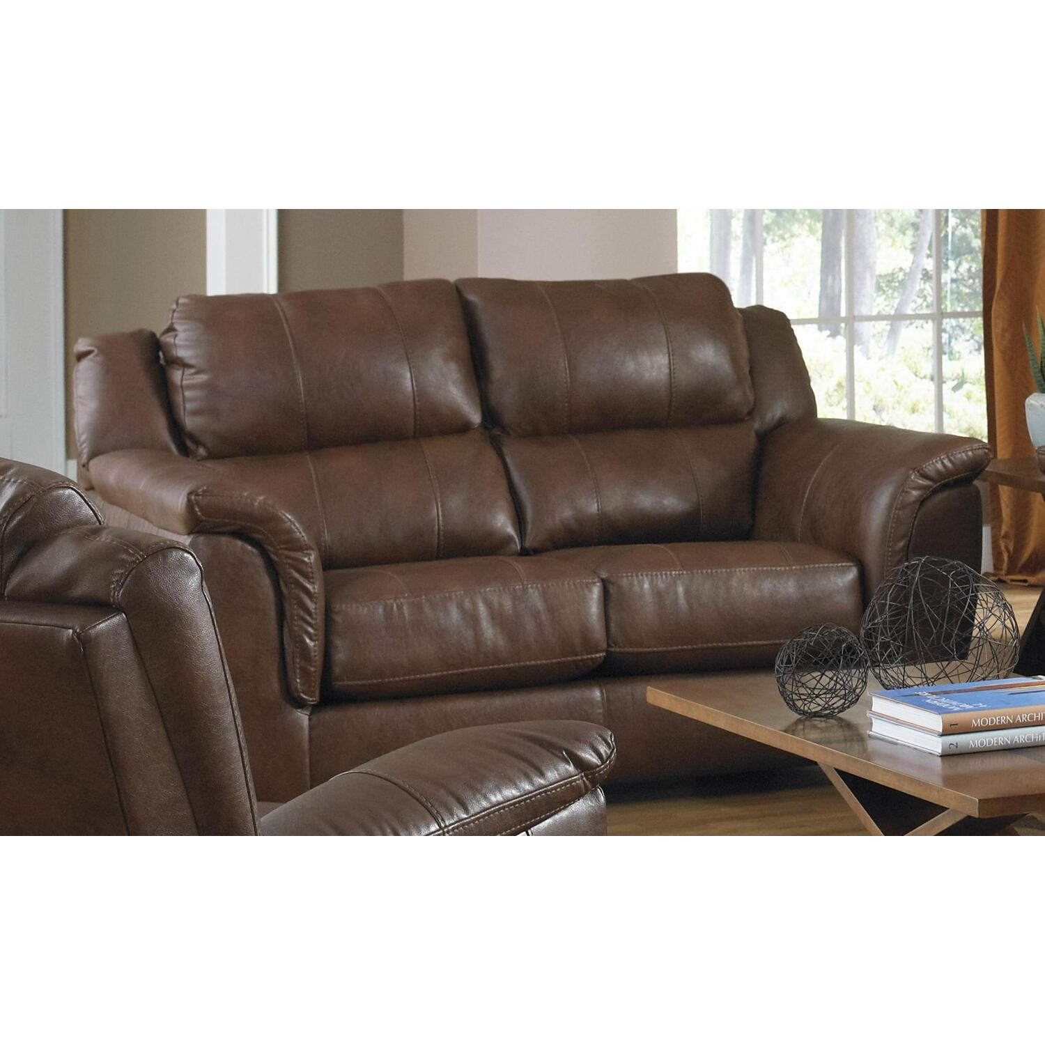 verona leather sofa reviews beds perth scotland jackson furniture loveseat by oj commerce