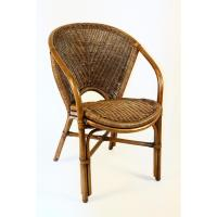 Hospitality Rattan Indoor Rattan & Wicker Arm Chair by OJ ...