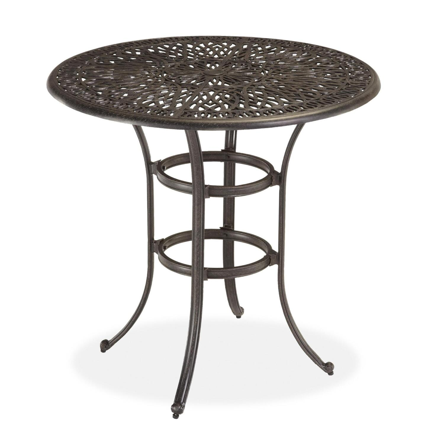 Home Styles Floral Blossom Bistro Table by OJ Commerce