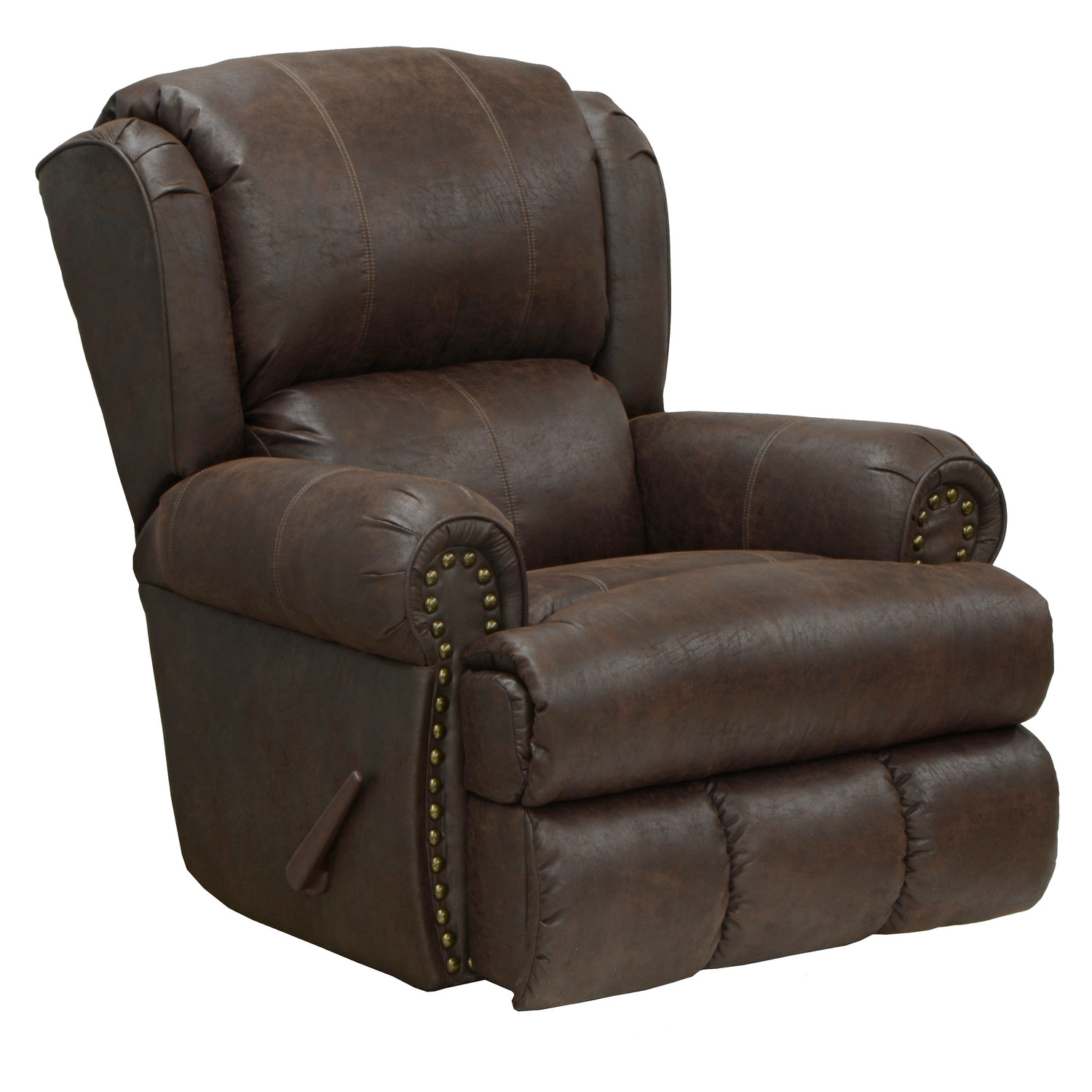 Catnapper Chair Catnapper Dempsey Leather Recliner By Oj Commerce 659 00