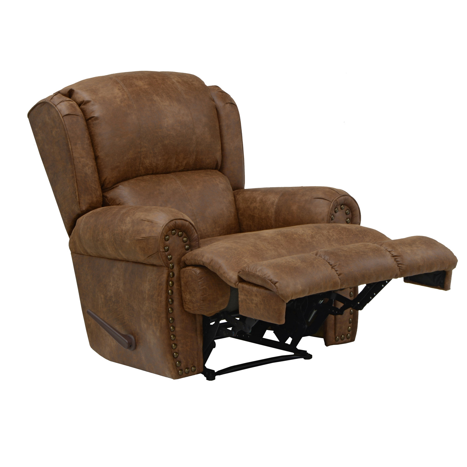 recliner chair leather swing in stand recliners bbt
