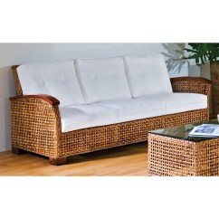 Wicker Sofas Younger Furniture Lily Sofa Reviews Indoor Awesome Images