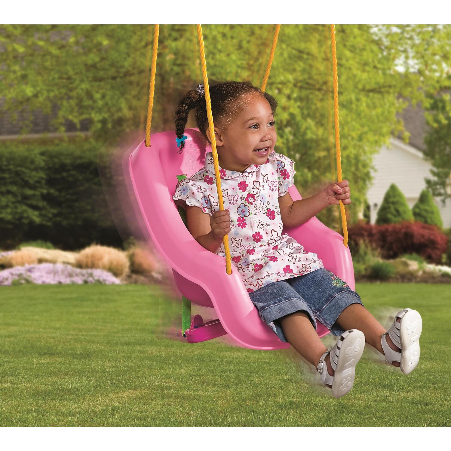 baby chair swing pink high end rocking chairs furniture home goods appliances athletic gear fitness