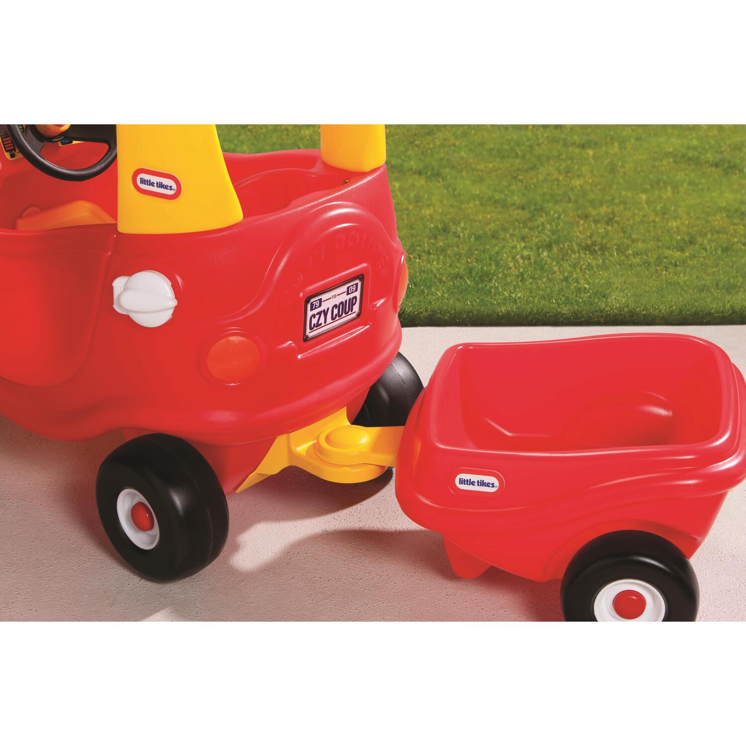 Little Tikes Cozy Coupe Trailer By OJ Commerce 620720 4299
