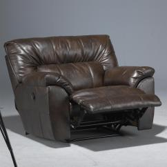 Nolan Power Reclining Sofa Foam Sleeper Sofas Bonded Leather Extra Wide Cuddler Recliner