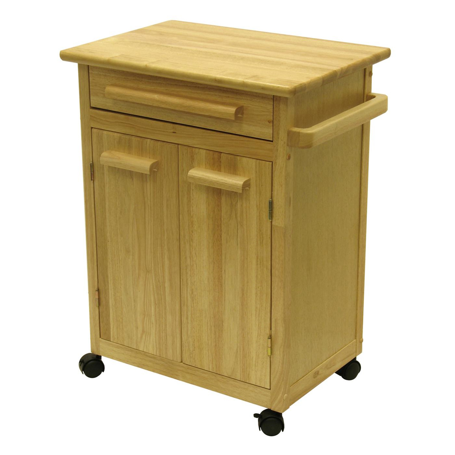 Kitchen Cart with One Drawer cabinet  OJCommerce