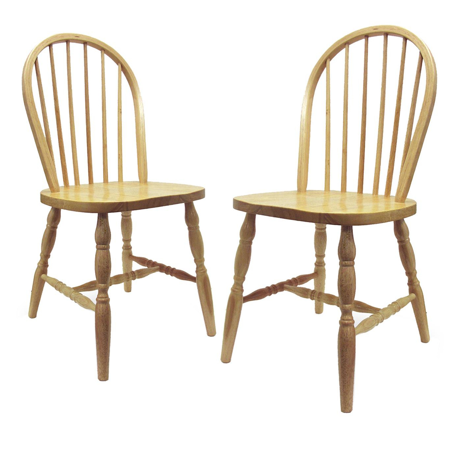 unfinished windsor chairs ergonomic chair store winsome set of 2 turn legs assembled by oj