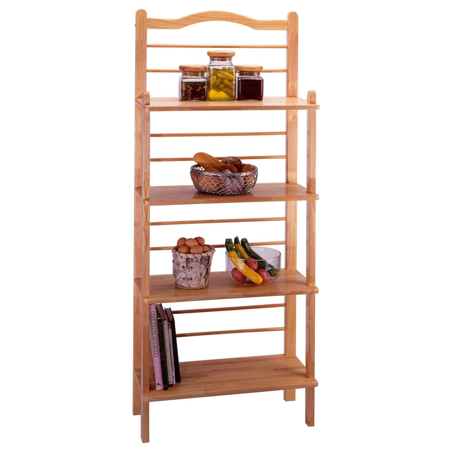 bakers racks for kitchen wall art winsome baker 39s rack by oj commerce 87930 157 99