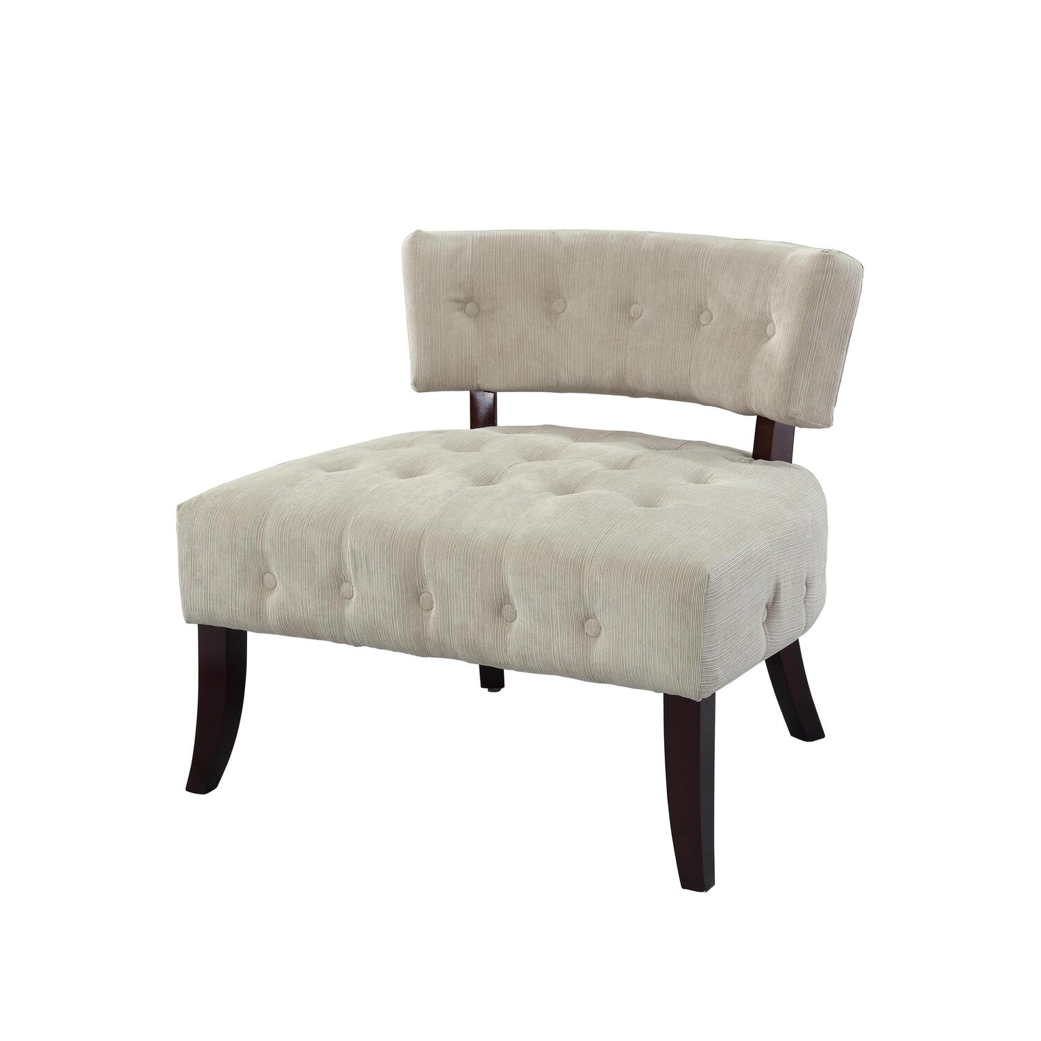 tufted accent chairs 1800 antique barber chair powell lady slipper by oj commerce 249 00